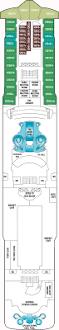 Norwegian Jewel Deck Plan 5 by Norwegian Star Deck Plans