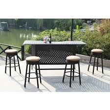 Outside Patio Bar Ideas by Outdoor Patio Bar Stools Swivel Home Design Ideas And Pictures
