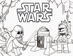 Lego Star Wars Free Coloring Page O Kids Movies