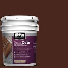 behr premium deckover deck paint restoration exterior stain