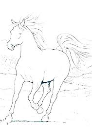 Race Horse Coloring Pages Sheets Free Printable Of Horses Jumping