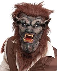 Scary Characters For Halloween by A252 Deluxe Wolf Man Werewolf Halloween Mask Scary Costume