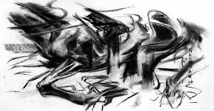 M Narayan ArtistIndian Contemporary ArtistHorse Racing PaintingsTop Artist From IndiaPolo Horse PaintingsBest Charcoal WorksHorse Drawings