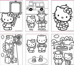 Coloring Sheets Girls On Top 5 Sites Of Free Printable Hello Kitty Pages For Kids