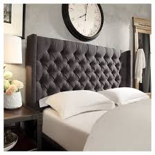 highland park button tufted wingback headboard inspire q target