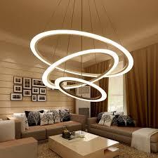 minimalism led modern chandelier lighting laras colgantes