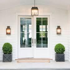 stylish outside door lights 17 best ideas about front door
