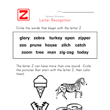 Words That Begin With Letter Z Gallery Letter Examples Ideas