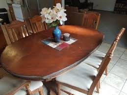 Dining Table And 6 Chairs 1 Captain Chair For Sale In Joplin MO