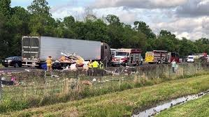 Man Killed In Wreck Involving 18-wheelers; Wife Witnesses Whole ...