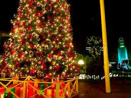 Christmas Tree At Music Center