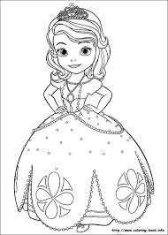 Lock Screen Coloring Sofia The First Disney Princess Pages On