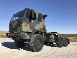 100 Military Semi Truck 1999 Stewart Stevenson M1088 5 Ton SOLD Midwest