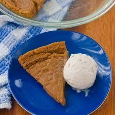 Crustless Pumpkin Pie by Crustless Pumpkin Pie Low Calorie Recipe