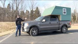 Homemade Truck Camper Project Part 1 - Extras - YouTube