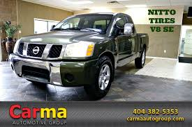 2004 Nissan Titan SE Stock # 14601 For Sale Near Duluth, GA | GA ... Buy Or Lease Used Nissan Vehicles In Unadilla Ga 2016 Chevrolet Silverado 1500 Custom Stock 245701 For Sale Near Inventory North Georgia Sales Llc Cars For Sale Pickup Trucks In Ga Awesome Ford Med Heavy New 2018 Ram 2500 Near Atlanta Classic C10 On Classiccarscom 2012 Toyota Tundra 2wd Truck 117695 Sandy 2019 Ram Athens Dealer Winder Ck 3500 63 From 1995 Ride Time Inc Quality Used Vehicles Lithia Springs Light Duty Shaquille Oneal Buys A Massive F650 As His Daily Driver
