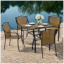 wilson amp fisher palm harbor 5 piece sling dining set at big lots