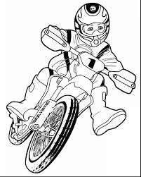 Stunning Dirt Bike Coloring Pages With Lego Chima