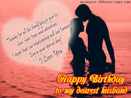 romantic birthday wishes for husband 365greetings