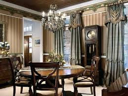 Formal Dining Room Window Treatments Modern Concept With