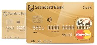 gold credit card standard bank south africa