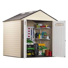 outdoor attractive rubbermaid shed for outdoor storage idea