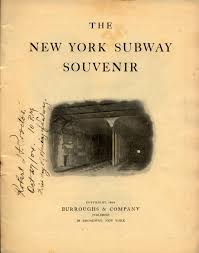 John Paschal Tile Company by Www Nycsubway Org The New York Subway Souvenir 1904