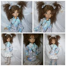 OOAK Handmade MSD BJD Outfit For Kaye Wiggs By Monica Spicer 인형