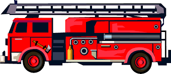 Black And White Fire Truck Clipart ClipartUse Within | Fiscalreform