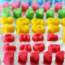 Sweet Heart Sugar Cubes Recipe