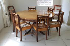For 6 Seats Classic Round Dining Room Tables Table Valuable