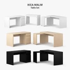 Ikea Malm Desk With Hutch by Jonas Secretary Desk Ikea Dimensions Malm White Chest Of 2drawers