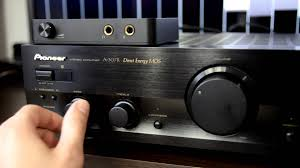 Pioneer A 307R amplifier Philips speakers sound test HQ record