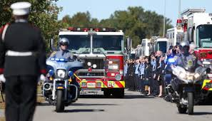 Firefighters From Around Virginia And Beyond Attend Services For Lt ...