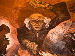 murales de josé clemente orozco en palacio de gobierno a photo