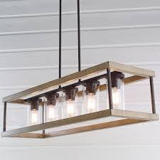 Chandelier outstanding rustic rectangular chandelier rustic