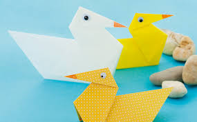 Make The Most Of Rainy Days With A Paper Folding Craft