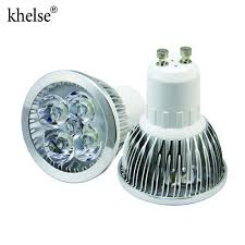 4w dimmable gu10 led light bulbs recessed lighting replacement for