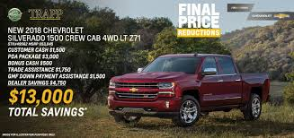 Silverado Sales Event | Chevy Truck Month | Trapp Chevrolet