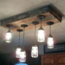Mason Jar Kitchen Decor And Extraordinary Lights For Your With Set Ma