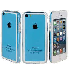 Bumper Case for Apple iPhone 5C White