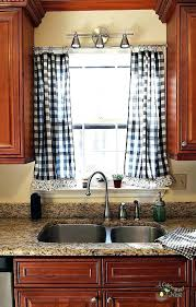 Rustic Kitchen Curtains Lodge