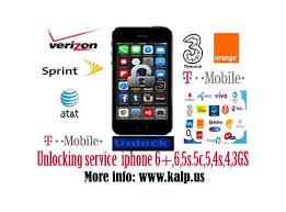 Sprint USA Unlock iPhone 4S 5 5C 5S 6 6 Blacklisted IMEI unlock