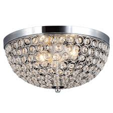 decor living 2 light chrome and flushmount 105033 15 the