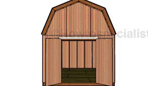 16x20 Gambrel Shed Plans by Gambrel Shed Plans With Loft 10x12 Shed Plans Gambrel Shed