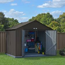 Arrow 10x12 Shed Assembly by Arrow Shed Woodridge 10 X 8 Ft Steel Storage Shed Hayneedle