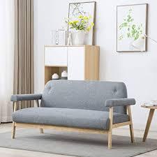 sofas couches festnight blau grün gelb 2 sitzer lounge
