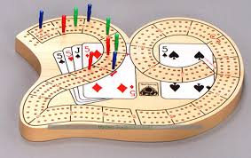29 Cribbage Board With 3 Tracks