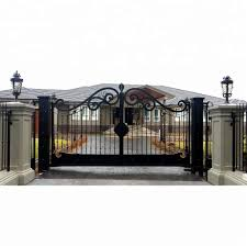 100 Best Modern House Price Powder Coated 2017 Iron Main Gate Design