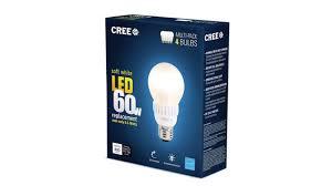most popular light bulb cree 60w soft white led bulb